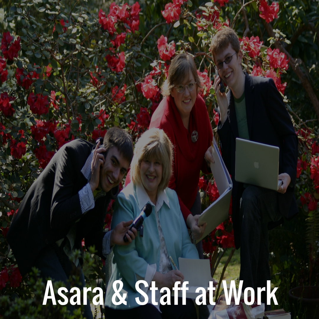 03 Asara and Staff at Work