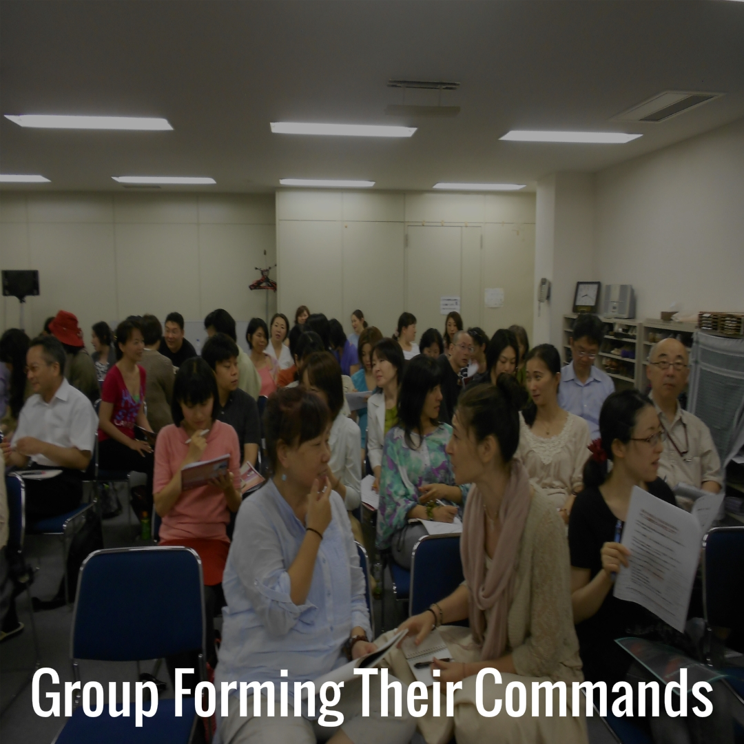 06 Group forming their commands