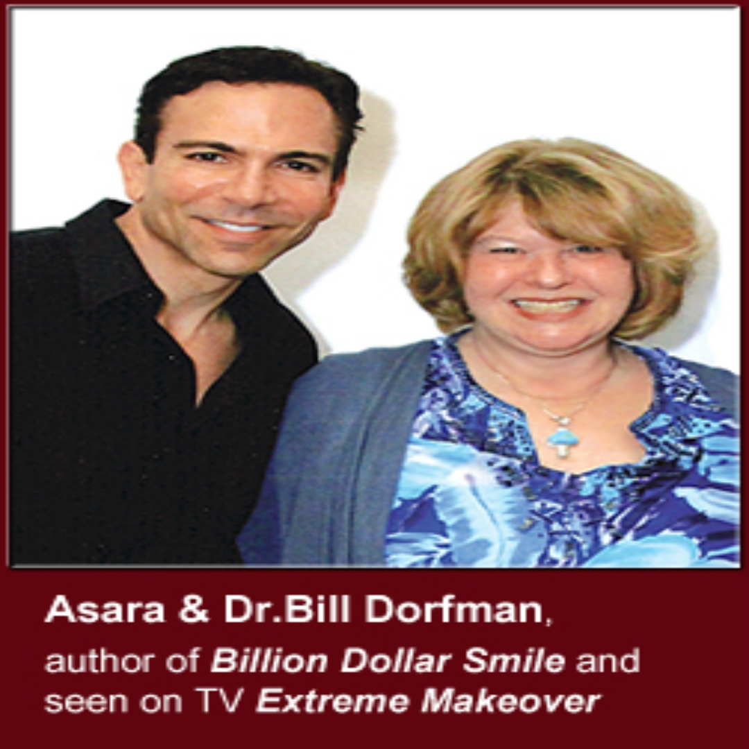 Asara and Dr Bill Dorfman