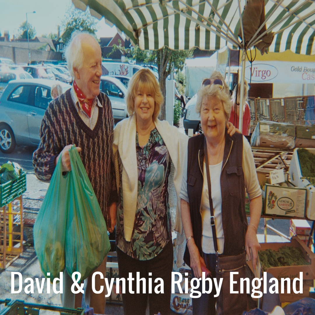 David and Cynthia Rigby England