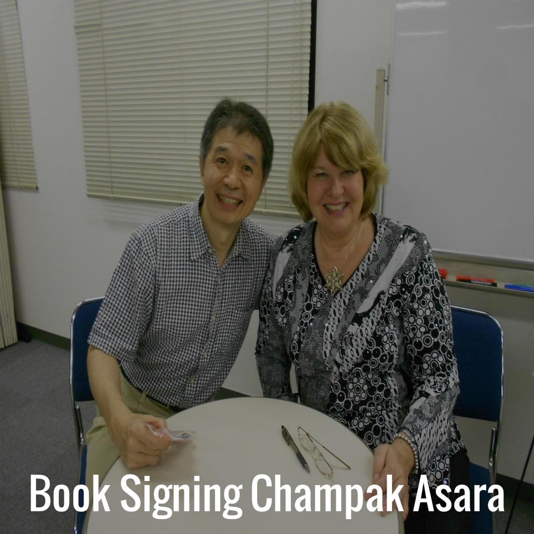 15 Book Signing Champak Asara