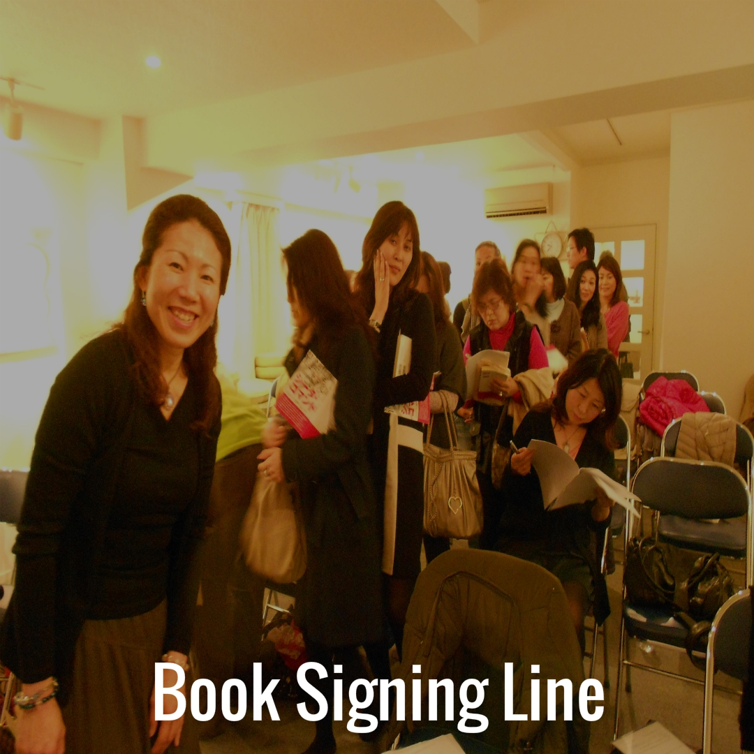 16 Book Signing Line