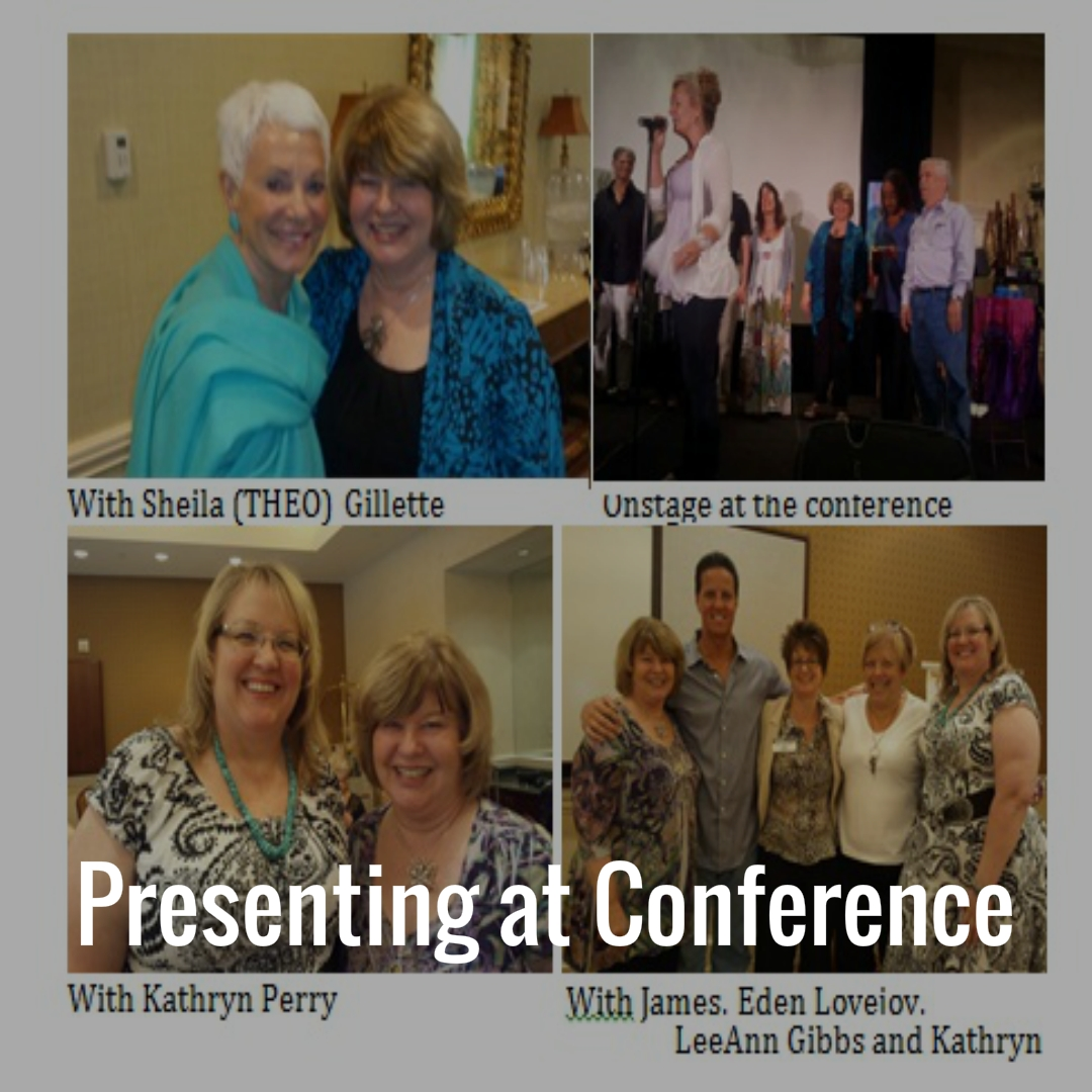 Presenting at Conference