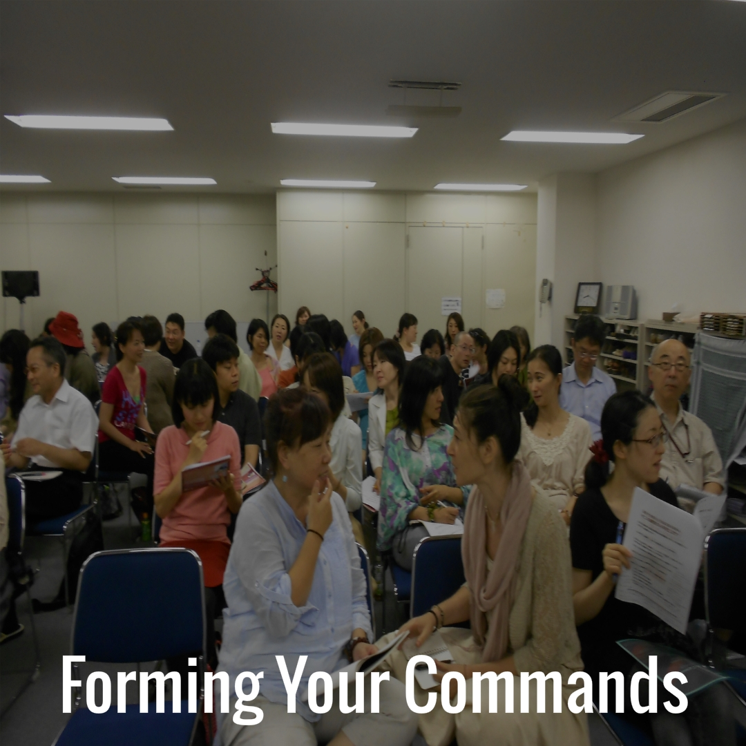 14 Forming Your Commands