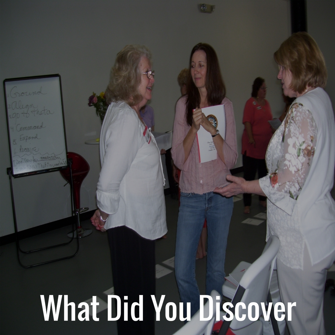 29 What did you discover